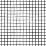 Bezszwowy wzór z w kratkę geometryczną teksturą Zdjęcie Stock