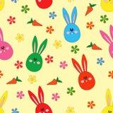 Bezszwowy wzór z Wielkanocnym motywem Zdjęcie Royalty Free