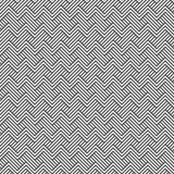Bezszwowy wzór zygzakowate linie geometryczny tło Obraz Stock
