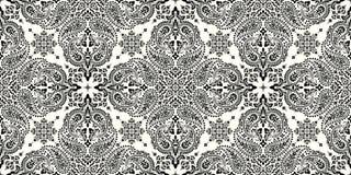Bezszwowy wz?r opieraj?cy si? na ornamentu Paisley bandan druku Wektorowy ornamentu Paisley bandan druk Jedwabniczy szyja szalik  ilustracji