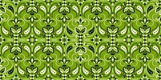 Bezszwowy wz?r opieraj?cy si? na ornamentu Paisley bandan druku Wektorowy ornamentu Paisley bandan druk Jedwabniczy szyja szalik  ilustracja wektor