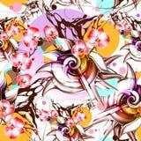 bezszwowy wzoru abstrakcyjny tło Obraz Royalty Free