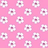 bezszwowy wzoru Czereśniowy okwitnięcie Wzór z różowymi kwiatami Ornament z orientalnymi motywami wektor ilustracja wektor