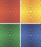 Bezszwowy wzoru cztery colour Obrazy Stock