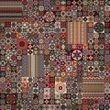 bezszwowy wzoru elementu dekoracyjny rocznik sporządzić tła ręka Islam, język arabski, indianin, ottoman motywy Obrazy Royalty Free