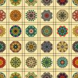 bezszwowy wzoru elementu dekoracyjny rocznik sporządzić tła ręka Islam, język arabski, indianin, ottoman motywy Doskonalić dla dr royalty ilustracja
