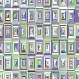 bezszwowy wzoru Fiołkowy tło Z Rhombus I Prąciami zdjęcie royalty free