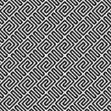 bezszwowy wzoru geometrycznego royalty ilustracja