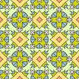 bezszwowy wzoru geometrycznego Zdjęcia Royalty Free