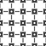 bezszwowy wzoru geometrycznego Zdjęcia Stock