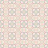 bezszwowy wzoru geometrycznego Beżowy tło z fiołkowymi i błękitnymi elementami Obrazy Stock
