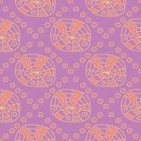 bezszwowy wzoru geometrycznego Jaskrawy barwiony fiołkowy background/ Zdjęcie Stock