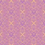 bezszwowy wzoru geometrycznego Jaskrawy barwiony fiołkowy background/ Zdjęcia Stock