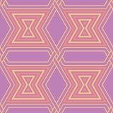 bezszwowy wzoru geometrycznego Jaskrawy barwiony fiołkowy background/ Zdjęcie Royalty Free