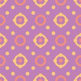bezszwowy wzoru geometrycznego Jaskrawy barwiony fiołkowy background/ Obraz Stock