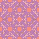 bezszwowy wzoru geometrycznego Jaskrawy barwiony fiołkowy background/ Zdjęcia Royalty Free