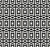 bezszwowy wzoru geometrycznego Prosty miarowy tło Modny modnisia styl z amerykańsko-indiański motywami aztecan ilustracja wektor