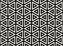 bezszwowy wzoru geometrycznego Prosty miarowy tło Modny modnisia styl z amerykańsko-indiański motywami aztecan ilustracji