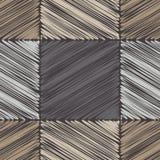 bezszwowy wzoru geometrycznego Skrobaniny tekstura Obrazy Royalty Free