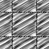 bezszwowy wzoru geometrycznego Skrobaniny tekstura Fotografia Stock