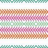 bezszwowy wzoru geometrycznego Tekstura paski Obraz Stock