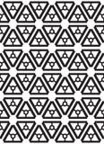 bezszwowy wzoru geometrycznego wektor Zdjęcie Stock