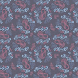 bezszwowy wzoru Kwiecisty elegancki tło Wektorowy wielostrzałowy te Obraz Stock