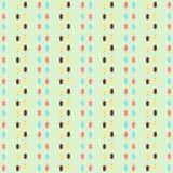bezszwowy wzoru Lody różni kolory wektor Obraz Stock