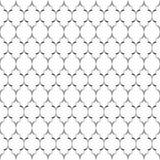 bezszwowy wzoru Niezwykła kratownica Geometryczny rocznika tło Fotografia Stock