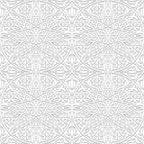 Bezszwowy wzór z tradycyjnym ornamentem Obrazy Royalty Free
