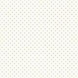 Bezszwowy złocisty polki kropki wzór Właśnie cieszy się i! EPS 10 ilustracji