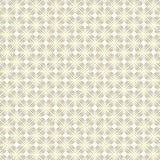 Bezszwowy Złoty kwadrat Kształtuje Geometrycznego wzór w Białym tle ilustracja wektor
