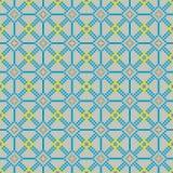 Bezszwowy zaszywanie wzór w chłodno kolorach Obrazy Stock
