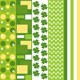 Bezszwowy zieleń wzór Zdjęcia Royalty Free
