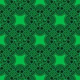 bezszwowy zielony ornament Obraz Royalty Free