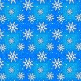 Bezszwowy zima wzór Zdjęcia Royalty Free