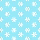 Bezszwowy zimy tło z śniegiem. Fotografia Royalty Free