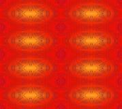 Bezszwowych elips deseniowa czerwona pomarańcze ilustracja wektor