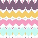 Bezszwowych geometrycznych deseniowych tkanin tekstury pastelowy tło Zdjęcia Stock