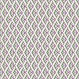 Bezszwowych geometrycznych wzór menchii błękitna zieleń Zdjęcia Stock