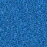 Bezszwowych niebieskich dżinsów drelichowa tekstura Fotografia Royalty Free
