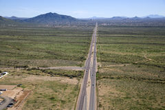 Beztroska Autostrada Fotografia Royalty Free