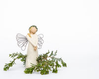 Beztwarzowy anioła ornament Zdjęcie Royalty Free