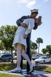 Bezwarunkowego poddania statua, Sarasota Zdjęcie Stock
