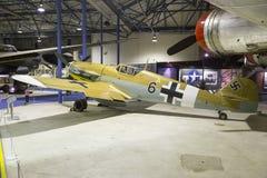 Bf-109G wojny światowa 2 niemiec myśliwiec Zdjęcia Royalty Free