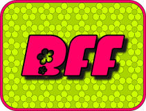 BFF Royalty Free Stock Image