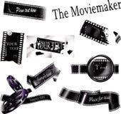 Strutture di film Immagine Stock Libera da Diritti