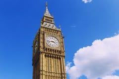 Bg本和威斯敏斯特宫` s美好的建筑学 免版税库存照片