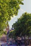 Bg Ben i pałac Westminister ` s piękna architektura wewnątrz Zdjęcia Royalty Free