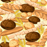 bg bread Obraz Royalty Free